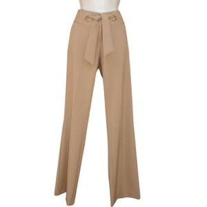 Cache Camel Tan Boot Cut Dress Pants